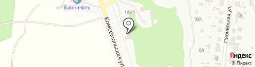Транзит-М на карте Красного Яра