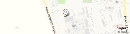 Магазин автозапчастей на карте Красного Яра
