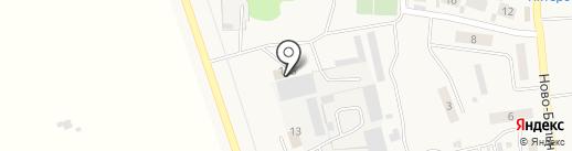 Подкова на карте Красного Яра