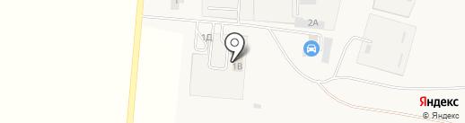 Автомойка на карте Красного Яра