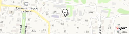 Уголовно-исполнительная инспекция на карте Красного Яра