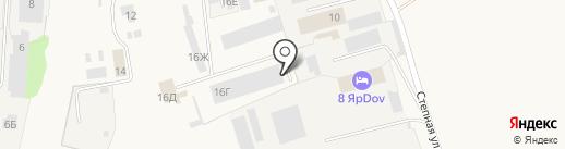 СтройИнвест на карте Красного Яра