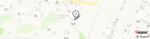 Автогараж на карте Красного Яра