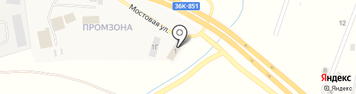СамараОйл-М на карте Спутника