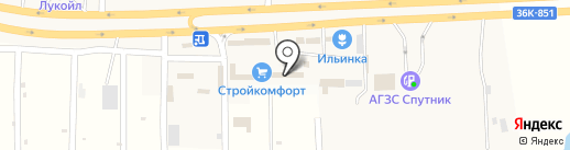 Прицепы-фаркопы на карте Спутника