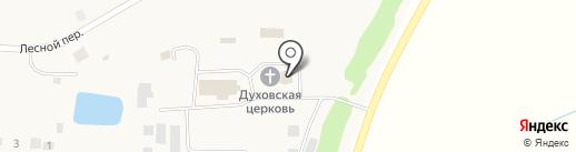 Храм в честь Святого Духа на карте Черновского