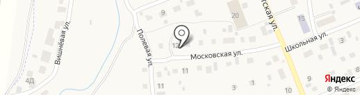 Центральное потребительское общество на карте Черновского