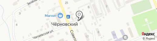 Магазин стройматериалов на карте Черновского