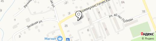 Кораблик на карте Черновского