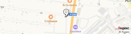 М5 на карте Алексеевки
