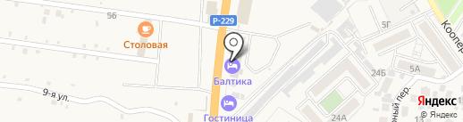 СК Бетон на карте Алексеевки