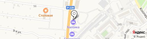 Феррум Авто на карте Алексеевки
