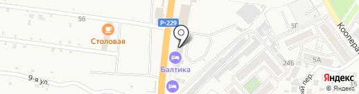 Бетон СК на карте Алексеевки