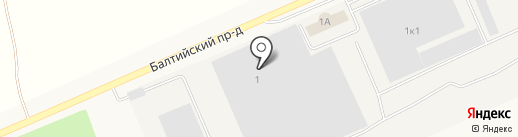 Балтика-Самара на карте Алексеевки