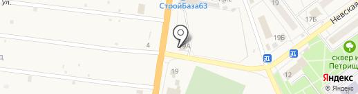 Автокомплекс на карте Алексеевки