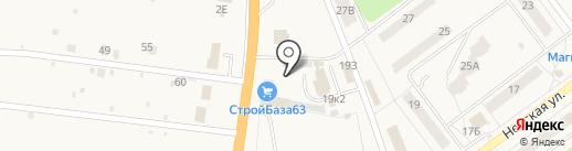 Автоцентр на карте Алексеевки