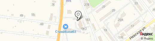 Стройбаза63 на карте Алексеевки