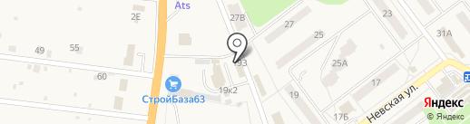 Автомойка для грузовых автомобилей на карте Алексеевки