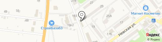 Мастерская грузового и легкового шиномонтажа на карте Алексеевки