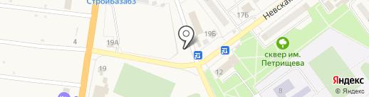 Магазин цветов на карте Алексеевки
