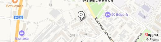 Альтернатива, ТСЖ на карте Алексеевки