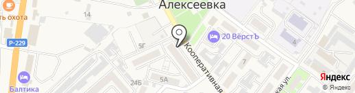 Семейная на карте Алексеевки