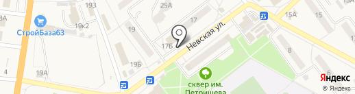Киоск по продаже фруктов и овощей на карте Алексеевки