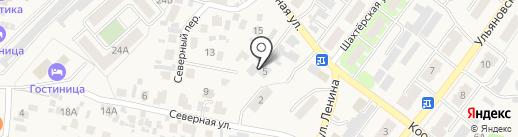 Кинельгоргаз на карте Алексеевки