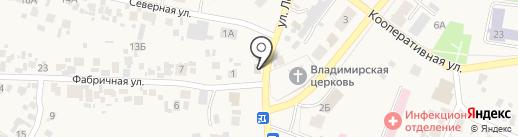 Лира на карте Алексеевки