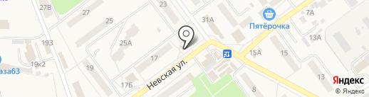 Магазин по продаже мяса на карте Алексеевки