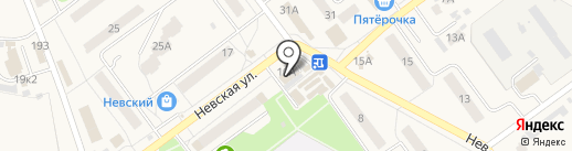 Бико на карте Алексеевки