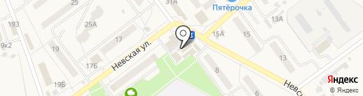 Теремок на карте Алексеевки
