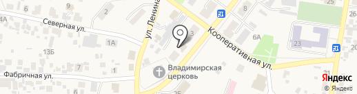 Магазин разливного пива на карте Алексеевки