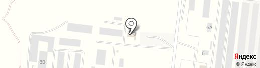 Ангар 818 на карте Алексеевки