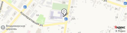 Пульсар на карте Алексеевки