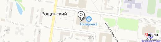 Семь+Я на карте Рощинского