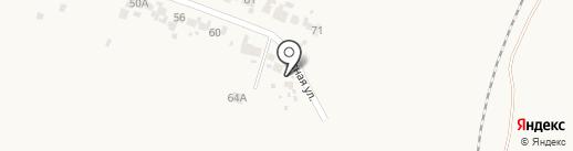 Теплый дом на карте Алексеевки