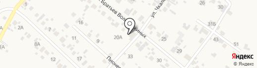 Настенька на карте Алексеевки