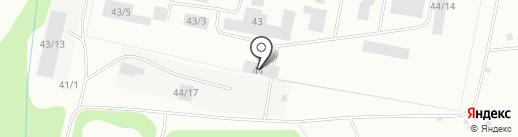 Исправительная колония №25 на карте Сыктывкара