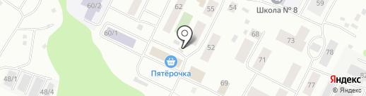 Киоск по продаже фруктов и овощей на карте Сыктывкара