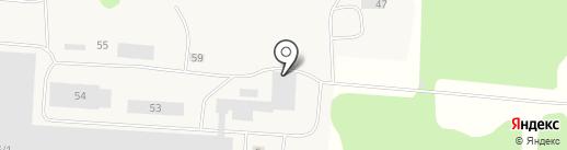 Пармастандарт на карте Сыктывкара