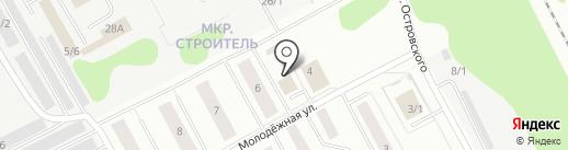 Сыктывкарпиво на карте Сыктывкара