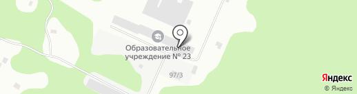Следственный изолятор №1 на карте Сыктывкара