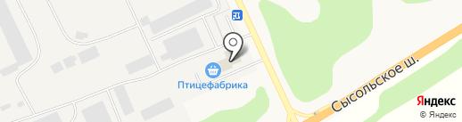 Торговый дом Сыктывкарская птицефабрика на карте Выльгорта