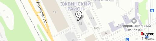 ЕВРО-СТРОЙ Групп на карте Сыктывкара