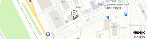 Сенсей на карте Сыктывкара