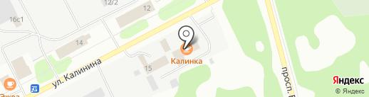ЛК Веста на карте Сыктывкара
