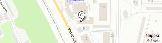 МКРЕП на карте Сыктывкара
