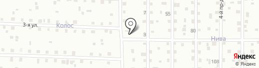 Удачный №8 на карте Сыктывкара