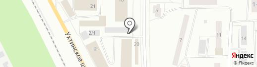Троица на карте Сыктывкара